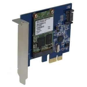SEDNA - PCI Express mSATA III (6G) SSD Adapter with 1 SATA III port with Low Profile Bracket (SSD...