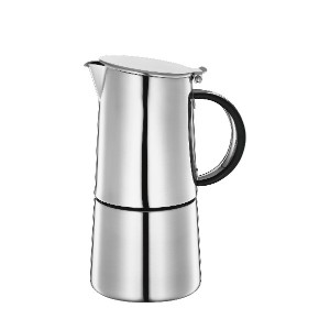 Cilio Nabucco 6 Cup Stove Top Espresso Coffee Maker Pot Stainless Steel Induction