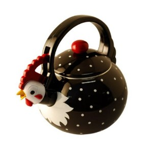 【並行輸入】Supreme Housewares Whistling Tea Kettle, Rooster やかん