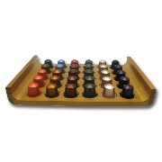 Modern Home Bamboo Nespresso® 30 Capsule Display Tray