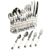 Cambridge Silversmith55020MC2Clear Flatware Set-20PC CLEAR FLATWARE SET (並行輸入品)