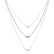 [ジュール・スミス] Jules Smith TRIPLE HEART NECKLACE Jules Smith JSD4233M(MIX)