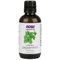 海外直送品 Now Foods Peppermint Oil, 2 oz