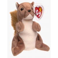 TY Nuts the Squirrel Beanie Baby by Ty