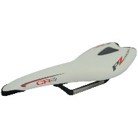 PZ RACING(PZ レーシング) CR2.4SD Carbon+PU Leather Road Saddle WHITE ロードバイク用 サドル PZ-SDL-003 [正規代理店品]