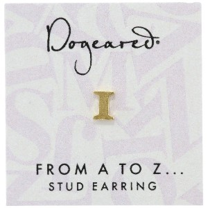 [ドギャード] DOGEARED from a to z earring, GD, little I V3GGZ00210804
