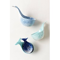 Anthropologie(アンソロポロジー) くじらのメジャーカップ セットWhale-Tail Measuring Cups [並行輸入品]