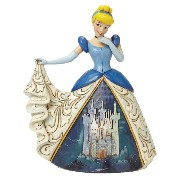 Enesco(エネスコ) Disney Traditions Cinderella with Castle Dress 4045239 [並行輸入品]