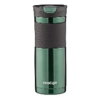 Contigo SnapSeal Vacuum-Insulated Stainless Steel Travel Mug タンブラー 550ml グリーン