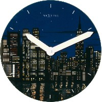 NEXTIME New York アナログ掛け時計 Luminous 8819