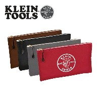 KLEIN TOOLS クラインツールズ ZIPPER Bags Canvas 4-Pack 5141 red/gray/black/brown 【カバン】ポーチ キャンバス