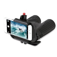 Snapzoom Universal Digiscoping Adapter for iPhone and Android Smartphones. Compatible with...