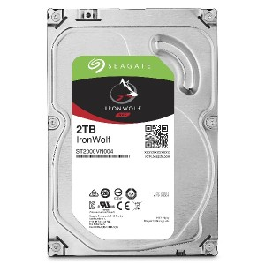 【Amazon.co.jp限定】Seagate 内蔵HDD IronWolf 3.5inch SATA 6Gb/s 2TB メーカー保証3年+1年 ST2000VN004/EWN