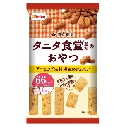 栗山米菓 間食健美(アーモンド)おでかけパック 32g×12袋