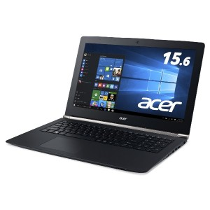 Acer ノートパソコン Aspire VN7-572G-H78G/L Windows10/KINGSOFT Office/15.6インチ/8G/1TB/NVIDIA GeForce 950M