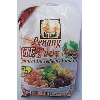 MyKuali Penang White Curry Noodle (4 Packs) ペナン ホワイトカレー ヌードル 4個セット 並行輸入 [並行輸入品]
