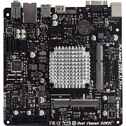 BIOSTAR Intel Celeron J3160 Quad-core CPU搭載 Mini ITXマザーボード J3160NH