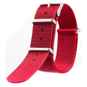 [EMPIRE] NATO STRAP NYLON (バーガンディ, 24mm)
