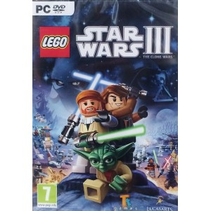 Lego Star Wars III The Clone Wars (PC DVD) (輸入版)