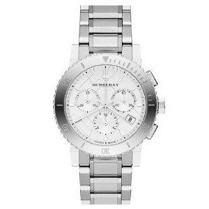 腕時計 バーバリー Burberry BU9700 Watch City Ladies - Silver Dial Stainless Steel Case Analog Movement...