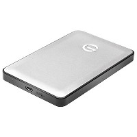 G-Technology G-DRIVE mobile USB-C 1000GB Silver JP 0G04879