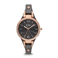 Fossil Georgia Ladies Leather Watch