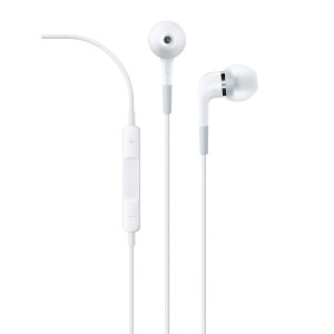 Apple In-ear Headphones with Remote and Mic MA850G/B