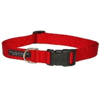 Sassy Dog Wear 18-28-Inch Red Nylon Webbing Dog Collar, Large by Sassy Dog Wear [並行輸入品]