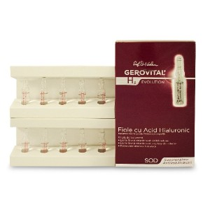GEROVITAL H3 EVOLUTION, Hyaluronic Acid Ampoules With Superoxide Dismutase (The Anti-Aging Super...
