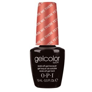 OPI ジェルカラー・Are We There Yet [海外直送品][並行輸入品]