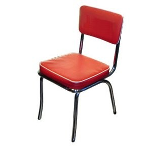 Cafe Chair (Red)