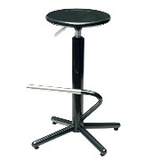 SPICE HERON BAR STOOL BLACK SWQ200BK