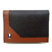 TOMMY HILFIGER 【トミーヒルフィガー】 カードケース 名刺入れ 31TL20X002 292 BROWN/TAN