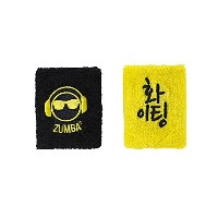 【ズンバ】 Zumba Let's Win This Wristbands Mell-Oh Yellow 2個セット 【並行輸入品】