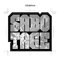 【BASSERS UNITED/バサーズ ユナイテッド】 SABOTAGE STICKER (code:BUM011)