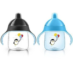 Philips AVENT My Penguin Sippy Cup, Blue, 9 Ounce (Pack of 2) by CuteMch [並行輸入品]