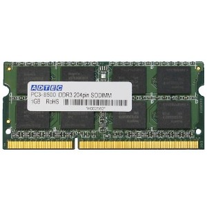 アドテック DDR3 1066/PC3-8500 SO-DIMM 1GB ADS8500N-1G