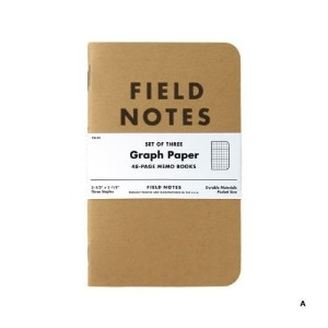 FIELD NOTES 3-PACKS (A)方眼 [FB001]