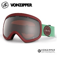 (ボンジッパー)VONZIPPER 2015年モデル ae21m-706-sir VONZIPPER/ボンジッパー ゴーグル SKYLAB SIR SHIFT INTO NEUTRAL MAROON...