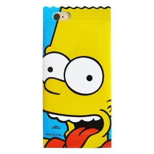 【 iPhone6S iPhone6 ケース カバー / フィルム付 】 シンプソンズ ゼリー ケース The Simpsons Jelly Case 人気 キャラクター iPhone 6 6S...