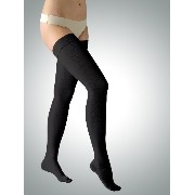 23-32 mmHg Class 2 Graduated Medical COMPRESSION STOCKINGS Closed Toe Thigh High (M, black)