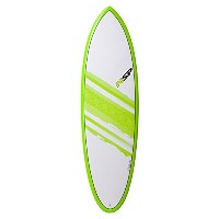 "NSP 2016 SURFBOARD Elements HYBLID 6'4"" GREEN C304465"