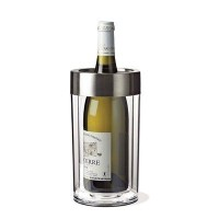 Wine Enthusiast Double Walled Iceless Wine Bottle Chiller by Wine Enthusiast (Kitchen) [並行輸入品]