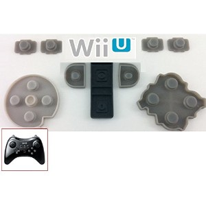Wii U Pro用 交換用コントローラーボタンパッド / Wii U Pro Replacemant Controller Button Pad Dianziオリジナルバージョン[CXD0928]...
