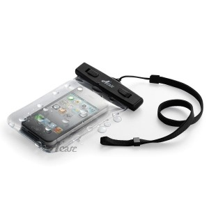 Acase 防水ケース クリア XL ストラップ 付 for iPhone6s / iPhone6 / Xperia A4 / Xperia Z3 compact / iPhone5S /...