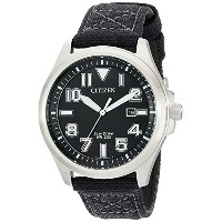 シチズン Citizen Mens メンズ 男性用 AW1410-08E Sport Analog Display Japanese Quartz Black Watch 腕時計 [並行輸入品]