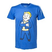 Fallout 4 Vault Boy Crossed Arms T-Shirt - Large (輸入版)