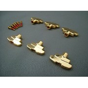 Grover 109/Imperial Tuning Keys Buttons ペグボタン ゴールド(Gold) [並行輸入品]