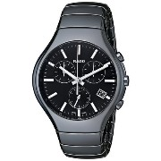 ラドー Rado Men's R27814162 True Black Analog Display Swiss Quartz Black Watch 男性 メンズ 腕時計 【並行輸入品】