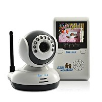 """Billfet ベビーモニター Wireless 2.4 GHz Digital Video Baby Monitor Rechargeable with Night Vision and 2.4""""..."""